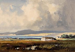 Frank McKelvey, Near Rosapenna, Co. Donegal at Morgan O'Driscoll Art Auctions