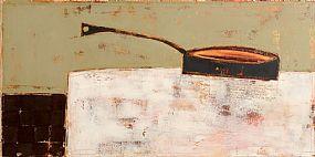 Angi Allen, Still Life - Big Black Fry Pan (2006) at Morgan O'Driscoll Art Auctions