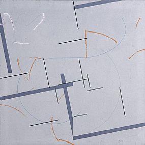 Felim Egan, Grey Cross (1981) at Morgan O'Driscoll Art Auctions