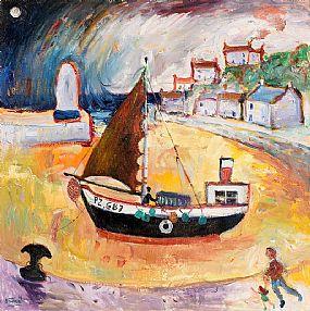 Simeon Stafford, Evening Stroll at Morgan O'Driscoll Art Auctions