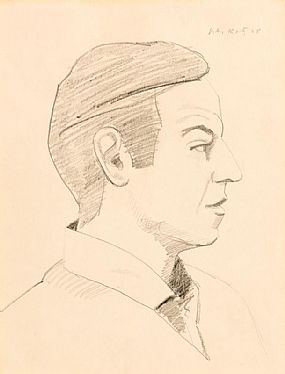 Alex Katz, Self Portrait (1968) at Morgan O'Driscoll Art Auctions