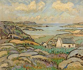 Letitia Marion Hamilton, Bunbeg, Co. Donegal (c.1949) at Morgan O'Driscoll Art Auctions