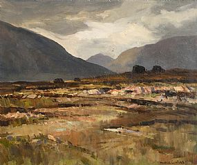 Maurice Canning Wilks, Landscape, Ballynahinch, Co. Galway at Morgan O'Driscoll Art Auctions