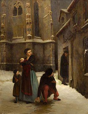Howard Helmick, Le Mauvais Oeil (The Evil Eye) (1869) at Morgan O'Driscoll Art Auctions
