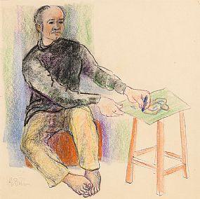 Gerard Dillon, Self Portrait at Morgan O'Driscoll Art Auctions