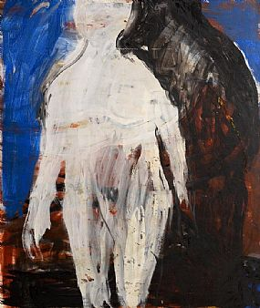 Eithne Jordan, Female Figure with Companion II (1985) at Morgan O'Driscoll Art Auctions