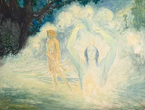 George Russell, Trailing Clouds of Glory at Morgan O'Driscoll Art Auctions