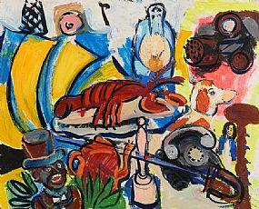 Elizabeth Cope, Untitled (2004) at Morgan O'Driscoll Art Auctions