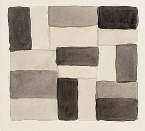 Sean Scully, 3.17.02 (2002) at Morgan O'Driscoll Art Auctions