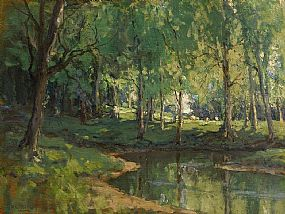 James Humbert Craig, Early Summer, Silversprings, Co. Antrim at Morgan O'Driscoll Art Auctions