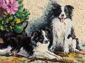 James S.Brohan, Collies at Morgan O'Driscoll Art Auctions