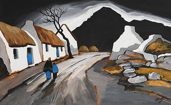 J.P. Rooney, Road to Achill at Morgan O'Driscoll Art Auctions