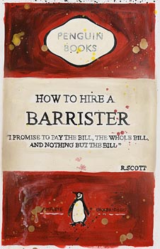 R. Scott, How to Hire a Barrister at Morgan O'Driscoll Art Auctions