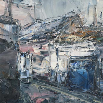 Aidan Bradley, Railway Cottages (2009) at Morgan O'Driscoll Art Auctions