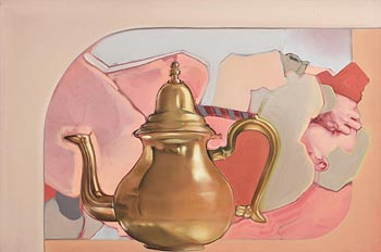 Shane Berkery, Japanese Teapot (2016) at Morgan O'Driscoll Art Auctions