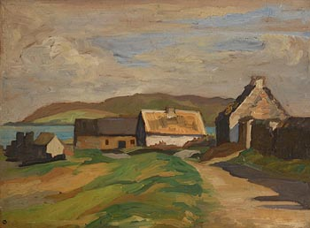 Dorothy Isabel Blackham, Coastal Cottages at Morgan O'Driscoll Art Auctions