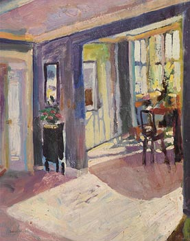 James O'Halloran, Dining Room at Morgan O'Driscoll Art Auctions