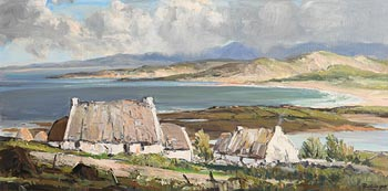 Rowland Hill, Cloudy Day, Bloody Foreland, Co. Donegal at Morgan O'Driscoll Art Auctions