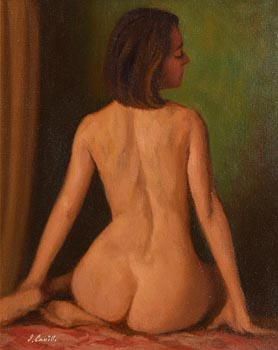 James Cahill, Seated Female Nude at Morgan O'Driscoll Art Auctions