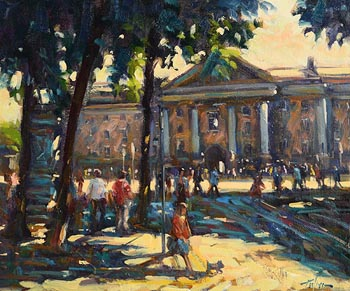 Norman Teeling, Trinity College, Dublin at Morgan O'Driscoll Art Auctions