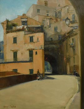 James English, Via Capo, Sorrento (2004) at Morgan O'Driscoll Art Auctions
