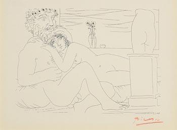 Pablo Picasso, Le Repos du Sculpteur devant le petit Torse at Morgan O'Driscoll Art Auctions