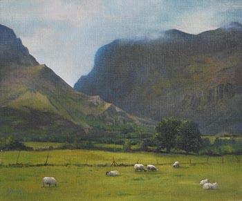 Annemarie Bourke, Gap of Dunloe, Killarney at Morgan O'Driscoll Art Auctions