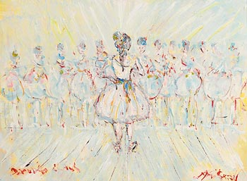 Marie Carroll, The Ballet at Morgan O'Driscoll Art Auctions