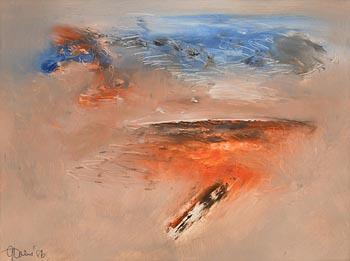 Gerald Davis, Blue Over Bog at Morgan O'Driscoll Art Auctions