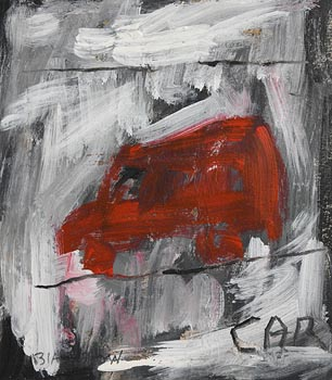 Basil Blackshaw, Car at Morgan O'Driscoll Art Auctions