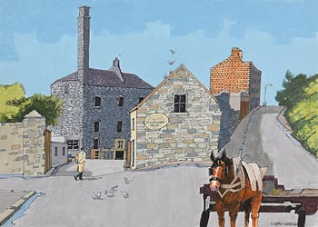 John Skelton, Old Kilmainham, Dublin at Morgan O'Driscoll Art Auctions