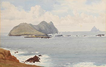 Captain George Drummond, Blaskets at Morgan O'Driscoll Art Auctions