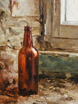 Mark O'Neill, Power's Brown Bottle (2007) at Morgan O'Driscoll Art Auctions