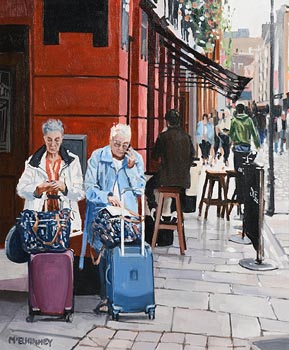 David McElhinney, Trolley Dollies at Morgan O'Driscoll Art Auctions