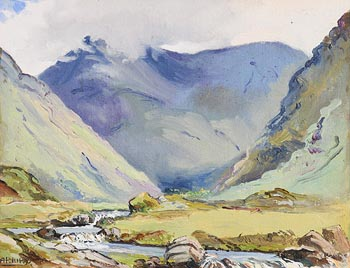 Ann Primrose Jury, Delphia Valley, Connemara at Morgan O'Driscoll Art Auctions
