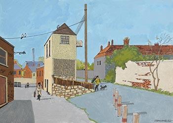 John Skelton, Back of Old Hospital, Kilmainham, Dublin at Morgan O'Driscoll Art Auctions