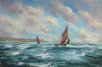 Gerard Marjoram, Sailing in Galway Bay at Morgan O'Driscoll Art Auctions