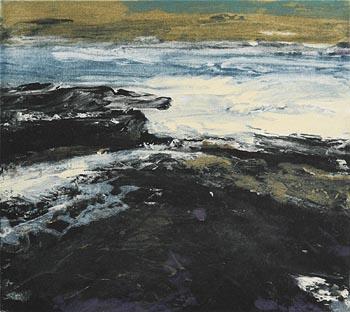 Donald Teskey, Seascape at Morgan O'Driscoll Art Auctions