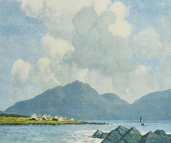 Paul Henry, Killary Harbour at Morgan O'Driscoll Art Auctions