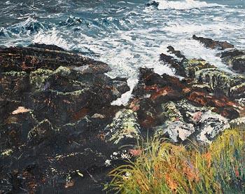 Dorothee Roberts, Seascape at Morgan O'Driscoll Art Auctions