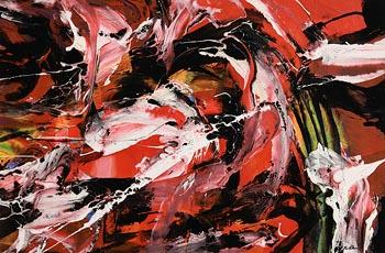Kieran O'Donovan, Symphony in Red (2010) at Morgan O'Driscoll Art Auctions