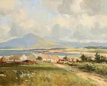 Maurice Canning Wilks, At Tyrella, Co. Down at Morgan O'Driscoll Art Auctions