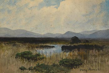 Percy French, In a Donegal Bog at Morgan O'Driscoll Art Auctions