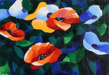 Kenneth Webb, Poppy Pattern at Morgan O'Driscoll Art Auctions