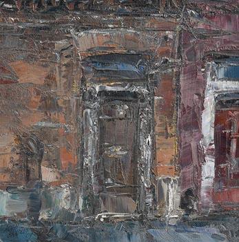 Aidan Bradley, Dublin Doorway (2009) at Morgan O'Driscoll Art Auctions