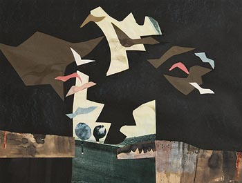 George Campbell, Birds in Flight at Morgan O'Driscoll Art Auctions
