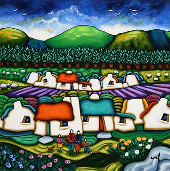 Annie Robinson, Dreams of Home at Morgan O'Driscoll Art Auctions