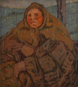 Grace Henry, Woman in Train at Morgan O'Driscoll Art Auctions