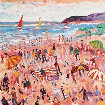 Simeon Stafford, Lamorna Cove at Morgan O'Driscoll Art Auctions