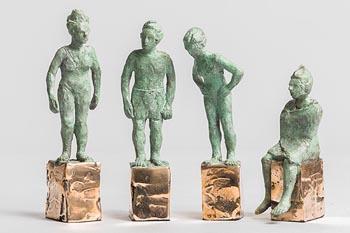 Fran Lambkin, Pier Jumpers at Morgan O'Driscoll Art Auctions